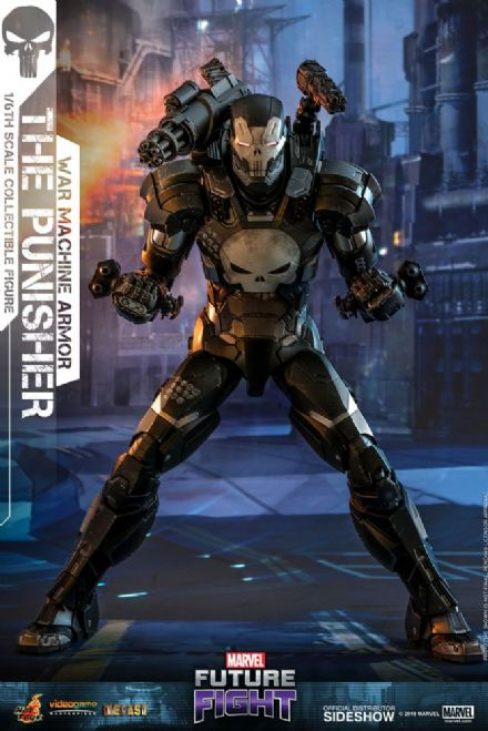 Hot Toys VGM33 Marvel Future Fight Punisher  (War Machine Armour) 1/6 Scale DIECAST Figure